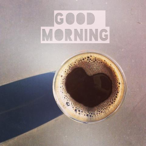 Heart shapped coffee (copyright Celine Chhuon)