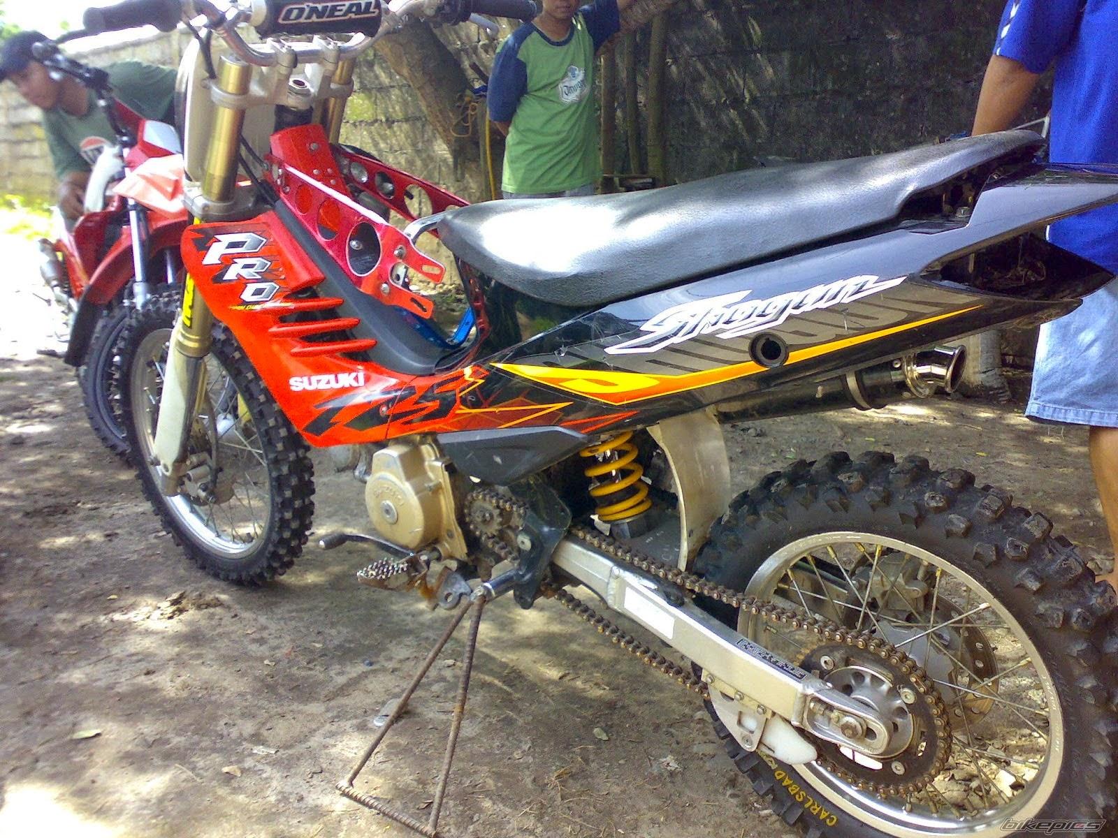 Modif Yamaha F1zr Jadi Trail