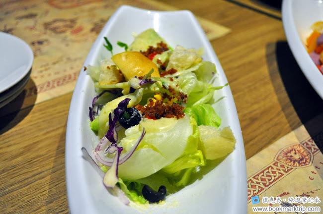 納尼亞義式餐廳蔬菜沙拉