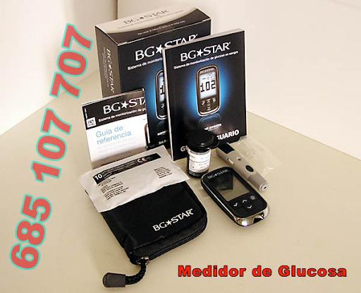 Medidor de Glucosa azucar en sangre BG