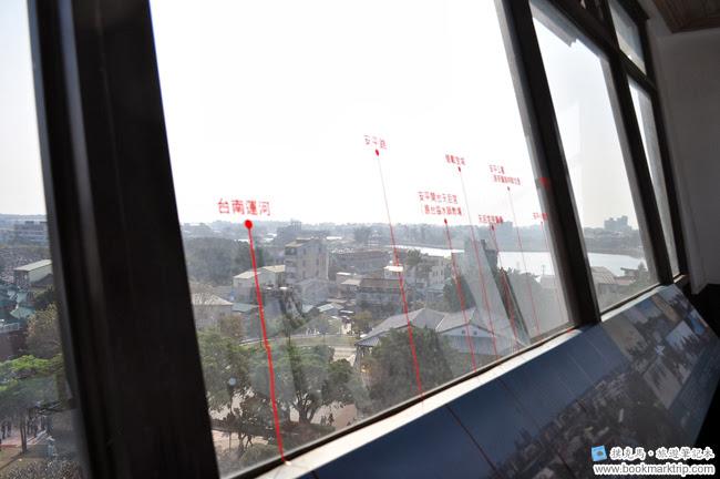 安平古堡瞭望台