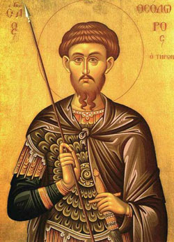 Saint of the Day: Theodore Tyro