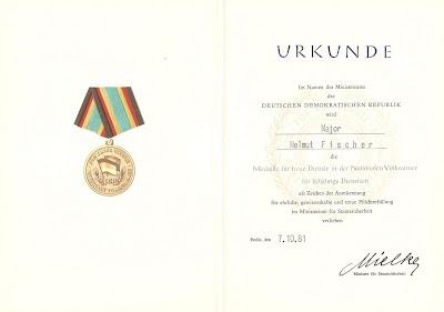 148i Medaille für treue Dienste in der Nationale Volksarmee für 20 Dienstjahre