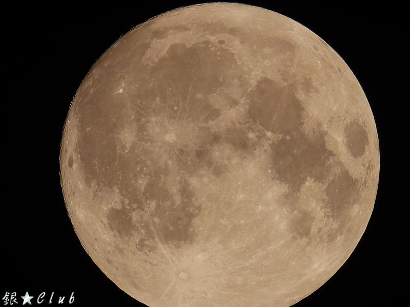 我的才是超級月亮