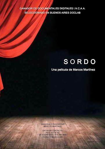 """Película """"SORDO"""""""