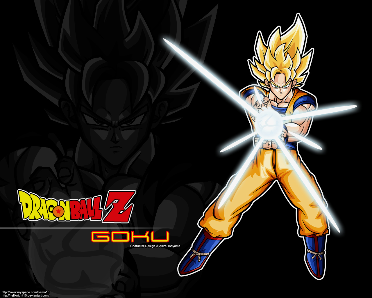 Dragon ball z cool pics super saiyan goku - Super sayen 10 ...