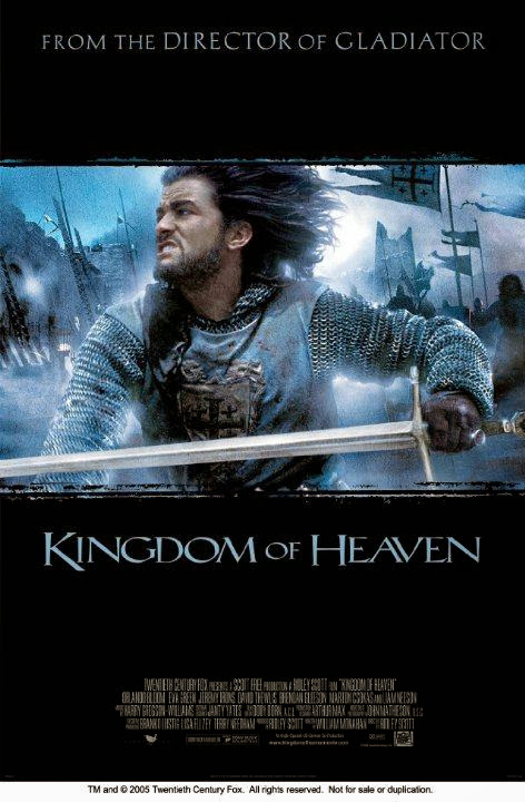 Poster Of Kingdom of Heaven (2005) Full Movie Hindi Dubbed Free Download Watch Online At Alldownloads4u.Com