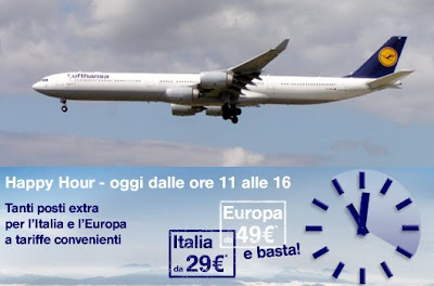 Happy Hour Lufthansa