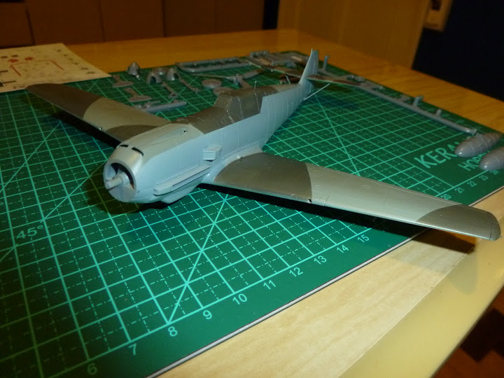 Bf-109 E-3 Tamiya 1/48 - Reforma pintura P1020399