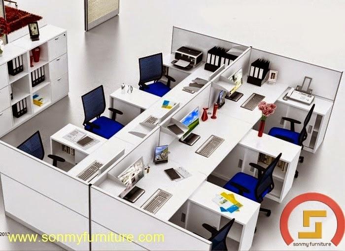 Mẫu thiết kế nội thất văn phòng SMF726