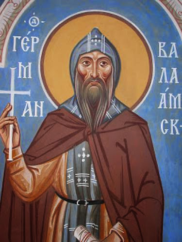 Venerable Sergius And Herman The Wonderworkers Of Valaam