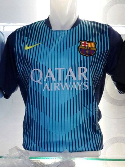 Jual Jersey Barcelona Training Warna Biru 2014