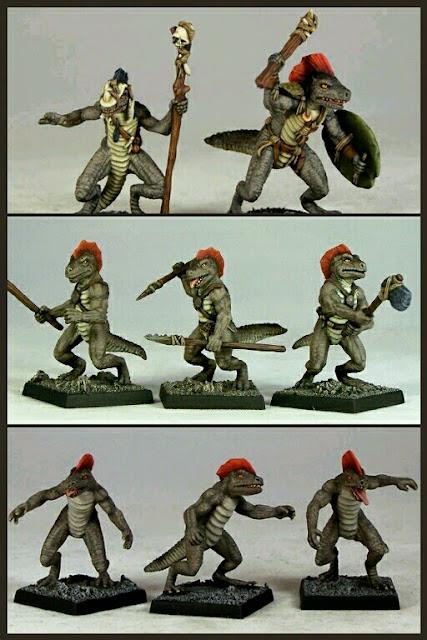Eslizones de OtherWorld Miniatures