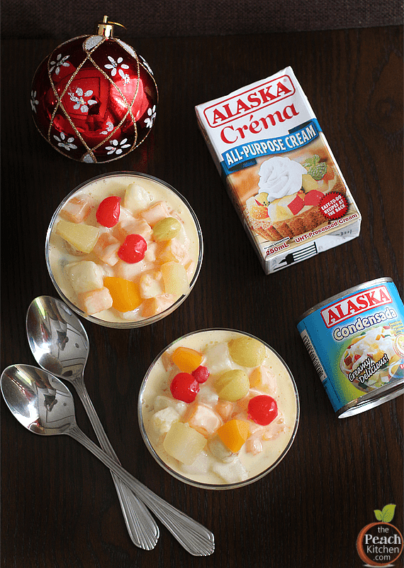 Fruit Salad Made with Alaska Crema