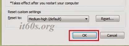 Cách sửa lỗi Internet Explorer không vào được Web 4