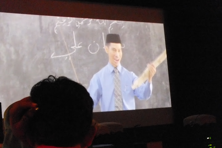 Salah satu (bocoran) adegan film Negeri 5 Menara (Foto : Imansyah Rukka)