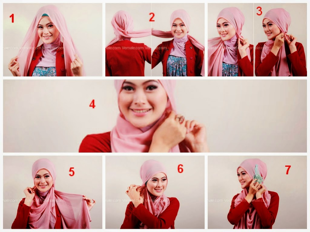 Tutorial Hijab Segi Empat Untuk Wajah Bulat   www.imgkid ...