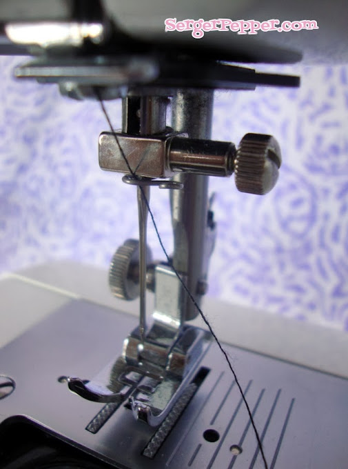 Serger Pepper - Sew Basic - Sewing Machine Threading for Beginners