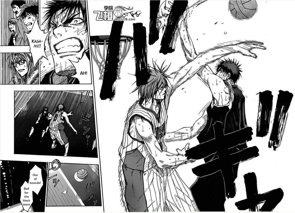 Kuroko no Basket Manga Chapter 154 - Image 06-07