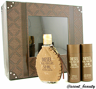 scent beauty online shop diesel fuel for life homme coffret. Black Bedroom Furniture Sets. Home Design Ideas