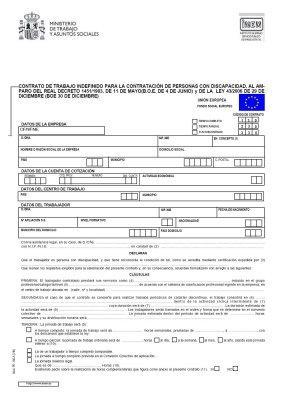 Recursos modelo oficial de contrato de trabajo for Modelo contrato empleada de hogar indefinido