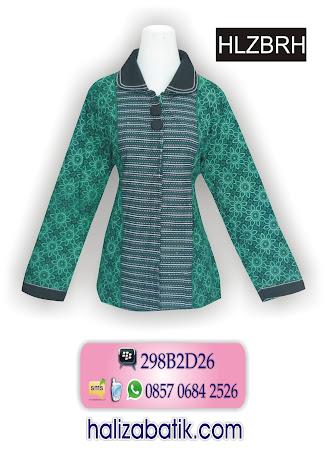 grosir batik pekalongan, Model Blus, Baju Blus, Blus Batik Wanita