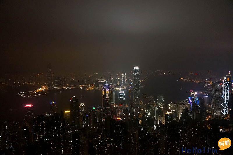 香港太平山夜景-2