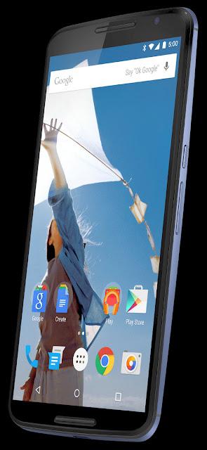 Google Nexus X(Nexus 6)のプレスショット