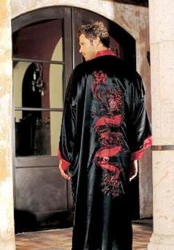 Prosperity Dragon Robe Father Day Coming
