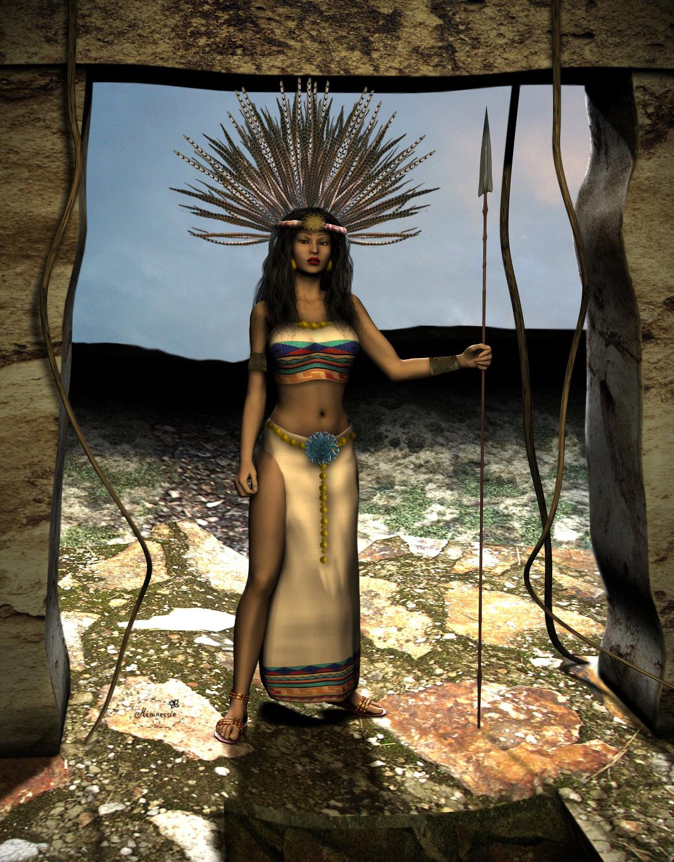Aztec Princess Warrior