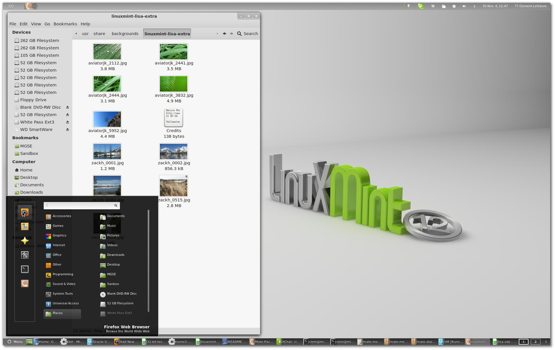 linux mint 12 to use gnome shell by default mate might be included rh webupd8 org Linux Mint Mate Linux Mint Logo