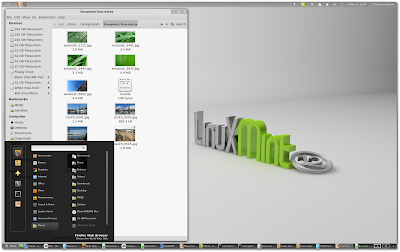 Linux Mint 12 GNOME Shell