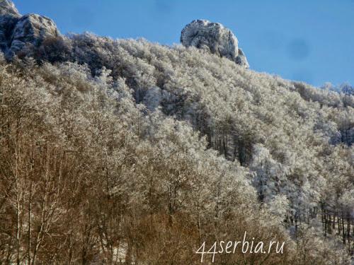Красоты гор Сербия