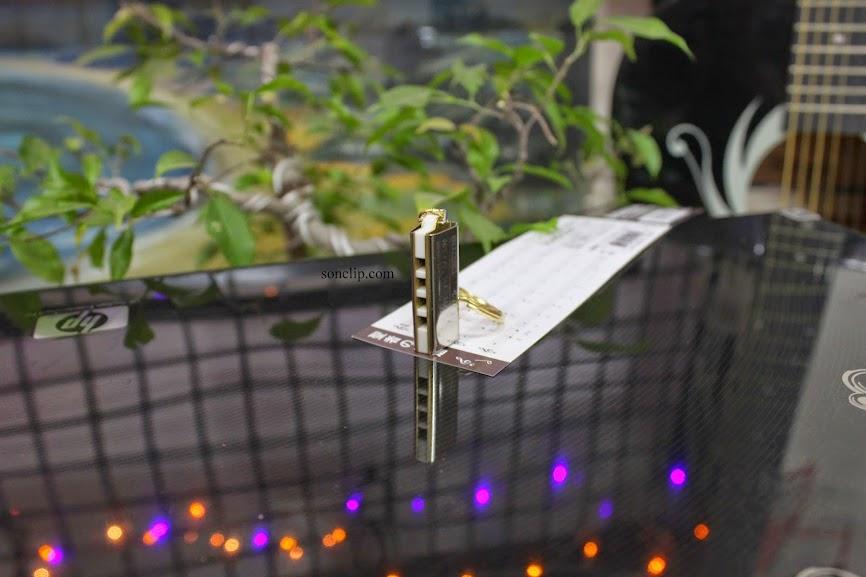 Kèn Harmonica Mini - Suzuki Keychain K-1200