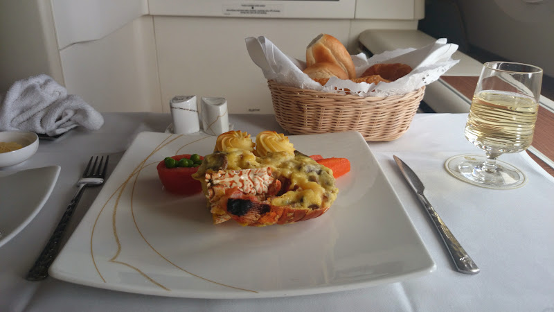 thai royal first class breakfast lobster