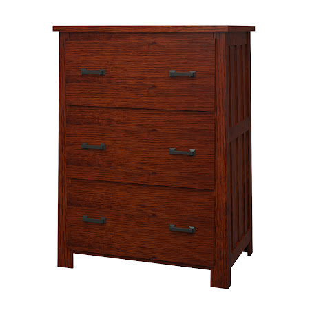 Teton Lateral File Cabinet in Michigan Quarter Sawn Oak