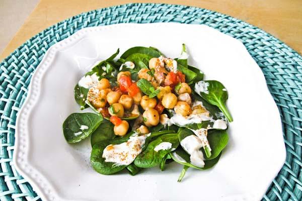 Salada Marroquina de Grão de Bico