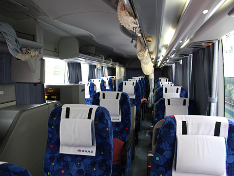 長崎自動車「オランダ号」 ・532 車内