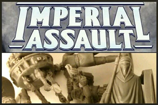 miniaturas de Imperiales de Imperial Assault