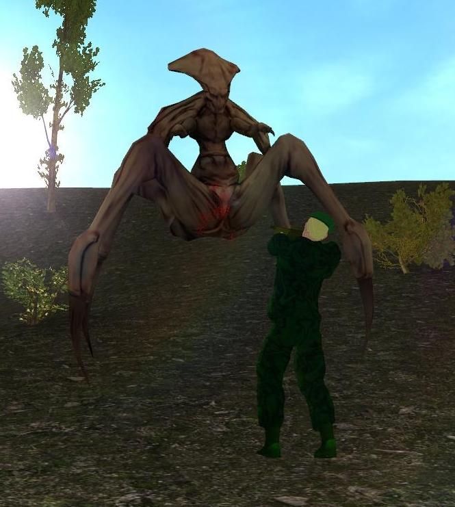 Creatures in Project Ion Alien01
