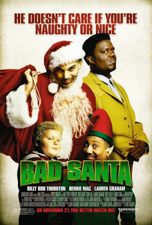 Poster Of Bad Santa (2003) Full Movie Hindi Dubbed Free Download Watch Online At Alldownloads4u.Com