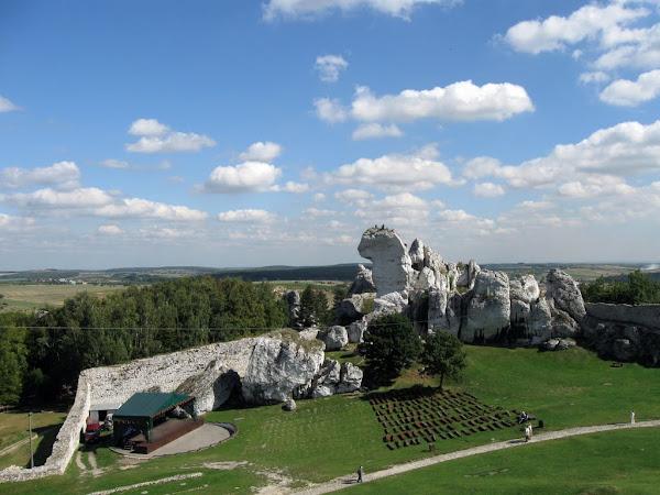 zamek ogrodzieniec - skałka wielbłąd