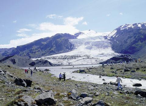 Bergwandeling IJsland