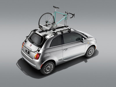 Fiat 500 Bike Carrier