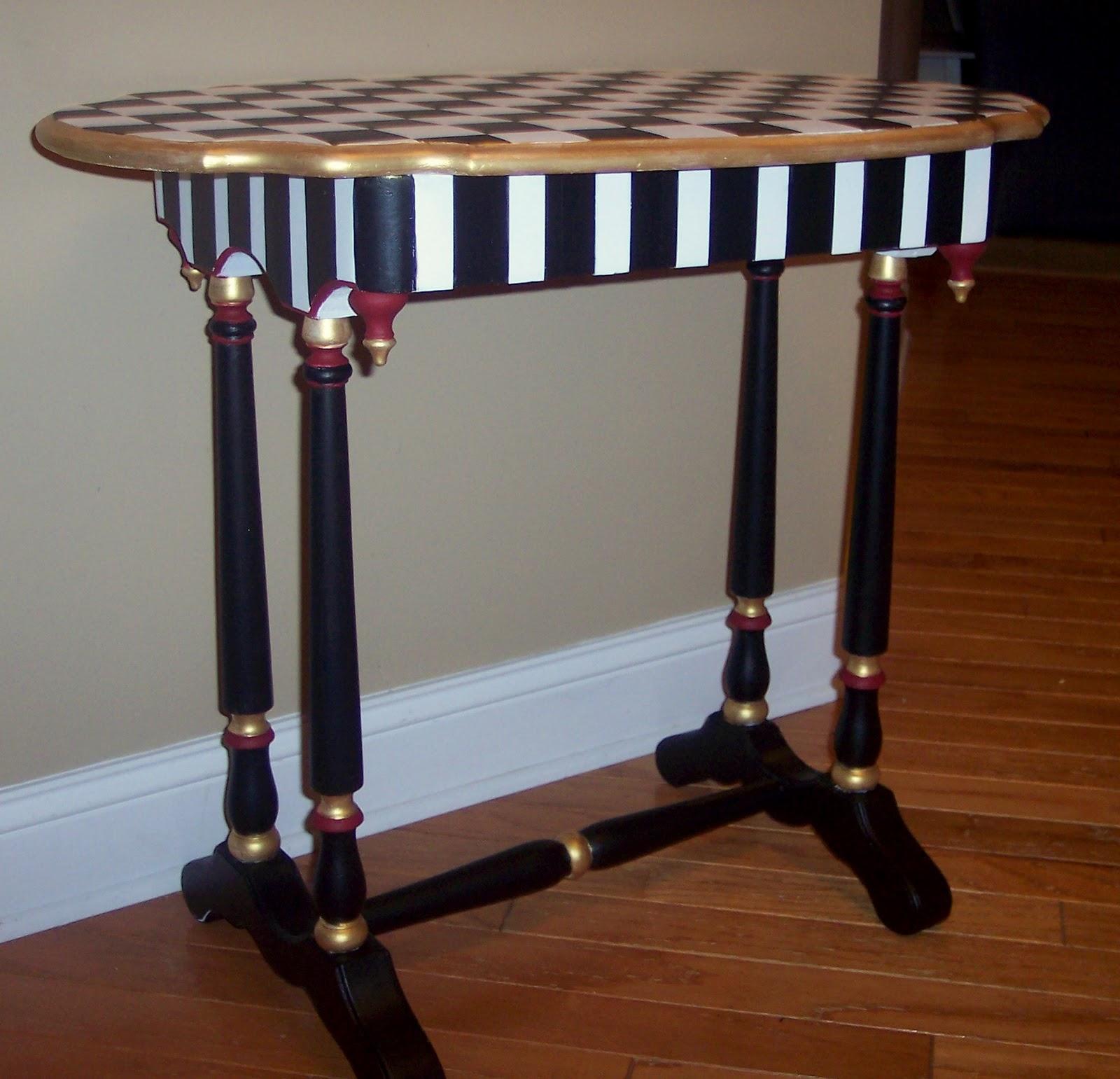 Uniquely Chic Furniture Mackenzie Childs Style
