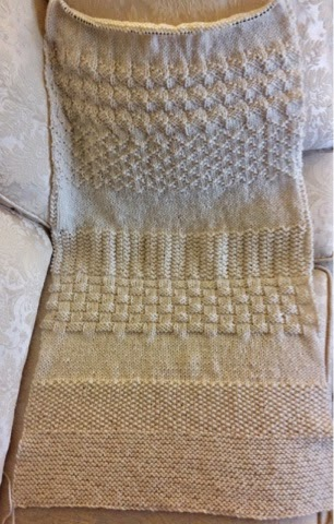 Whats Old Is New Again Sadie Sunshine Sampler Prayer Shawl Knit