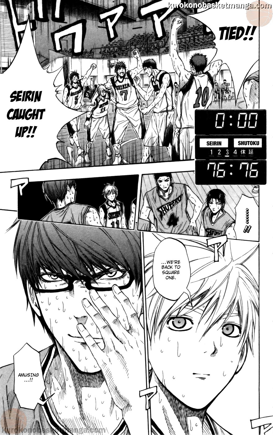 Kuroko no Basket Manga Chapter 90 - Image 19
