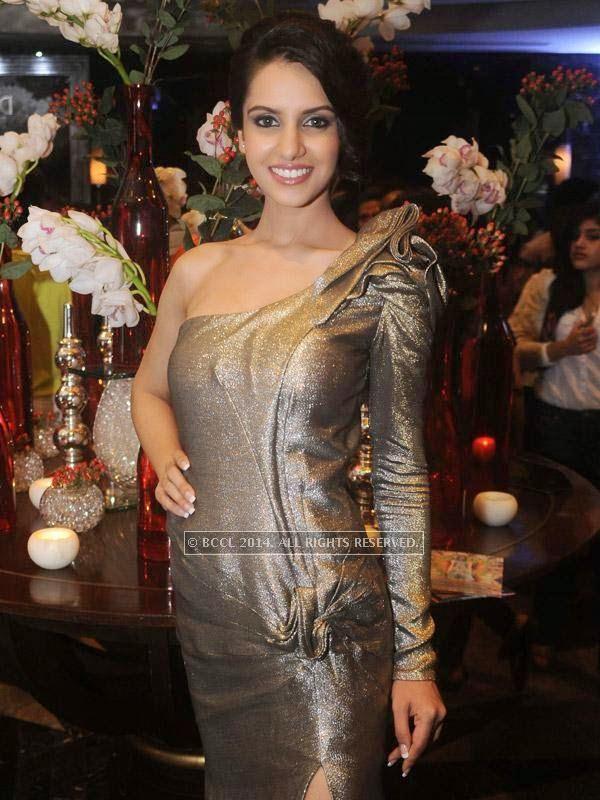 fbb Femina Miss India Koyal Rana at Gaurav Gupta's show, held in Delhi.