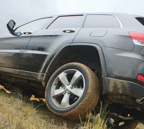 Jeep Grand Cherokee 2013 has a safety feature just to stop wheelspin