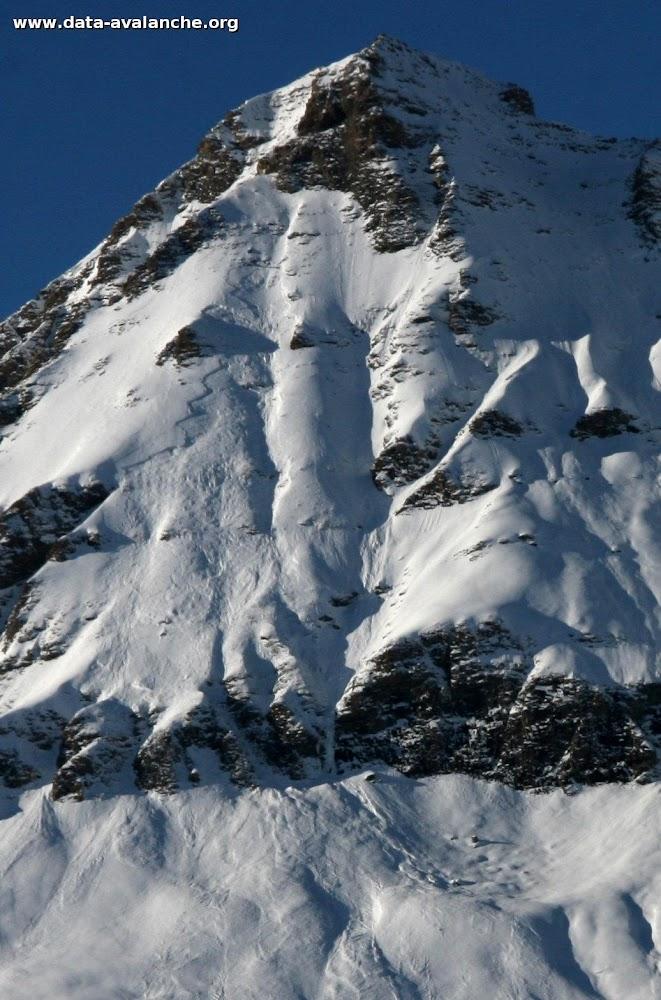 Avalanche Haute Maurienne, secteur Pointe de Méan Martin, Les Buffettes - Photo 1 - © Duclos Alain